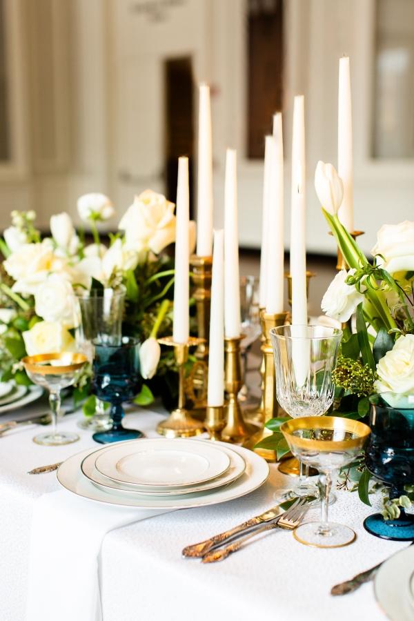 Elegant Hunter Green Wedding Inspiration Alexandra Lee38