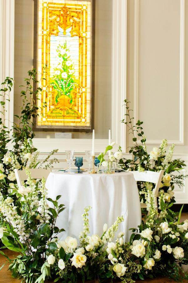 Elegant Hunter Green Wedding Inspiration Alexandra Lee45