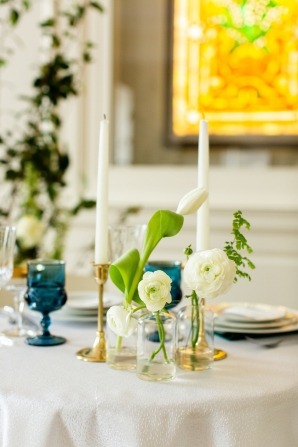 Elegant Hunter Green Wedding Inspiration Alexandra Lee49