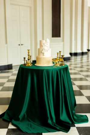 Elegant Hunter Green Wedding Inspiration Alexandra Lee50