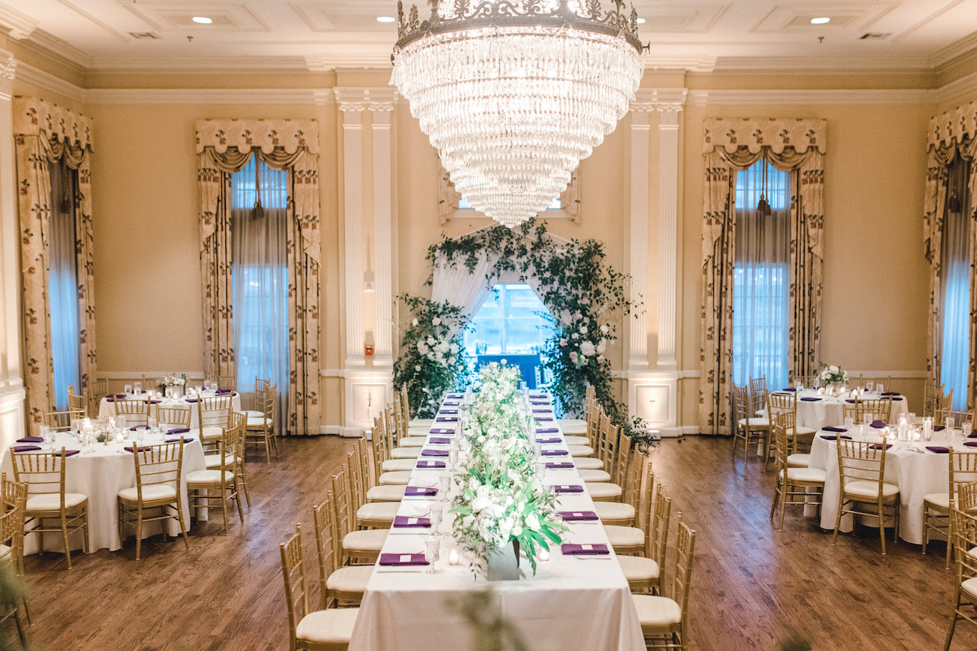 Elegant Mansion Wedding Reception