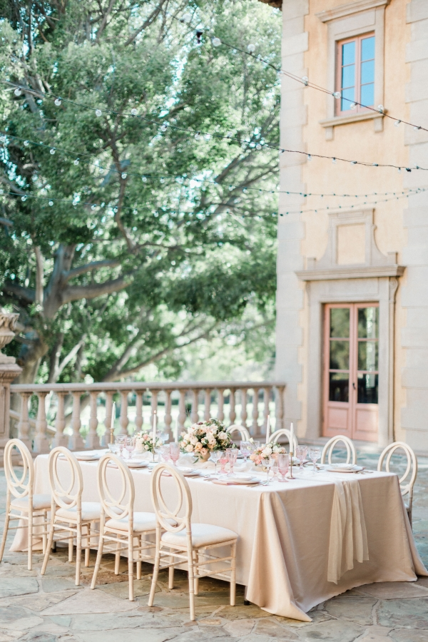 Elegant Romantic Estate Wedding Reception