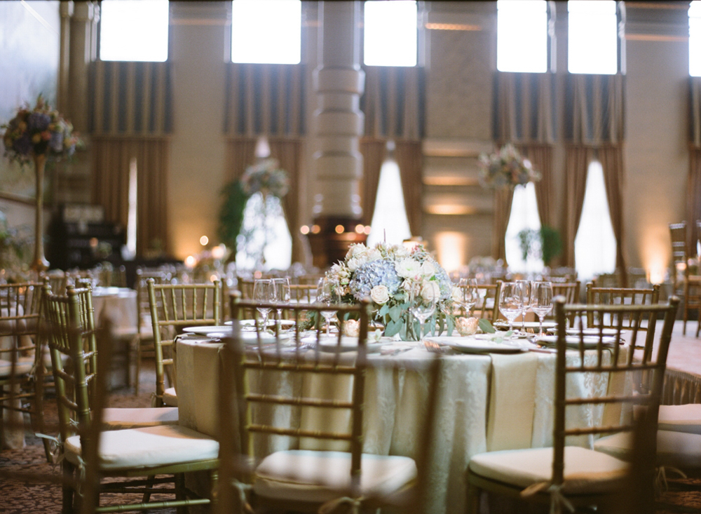 Gold Ballroom Wedding in Milwaukee