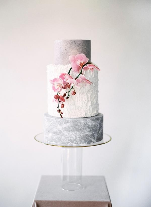 Gray Wedding Cakes