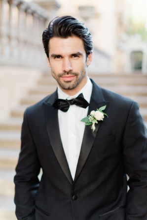 Groom in Classic Tux