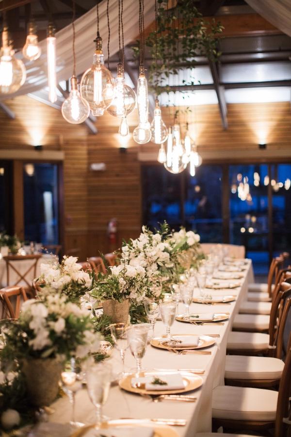 Wedding table lighting Votive Candle Wedding Lighting Over Wedding Table Democraciaejustica Lighting Over Wedding Table Elizabeth Anne Designs The Wedding Blog