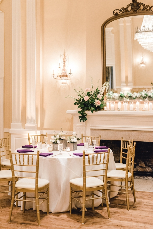 Mansion Wedding Reception Table