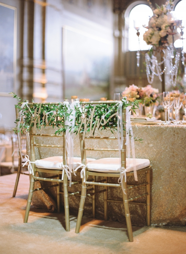 Mr and Mrs Chair Greenery