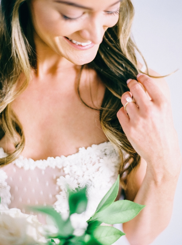 Romantic Bridal Portrait Nikki Santerre