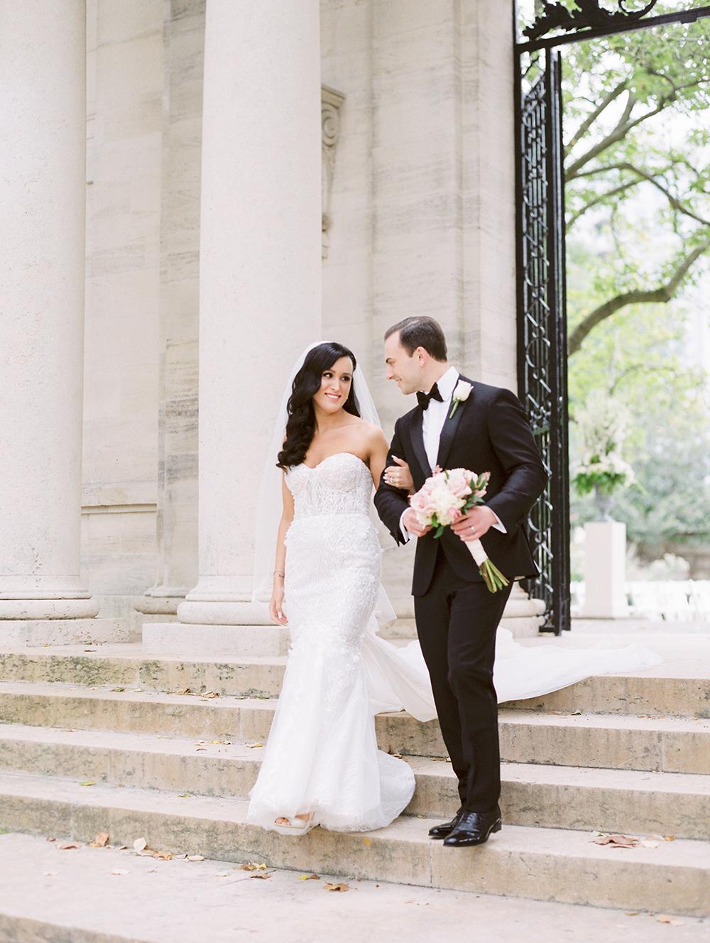 Romantic City Wedding in Philadelphia Kristen Weaver27