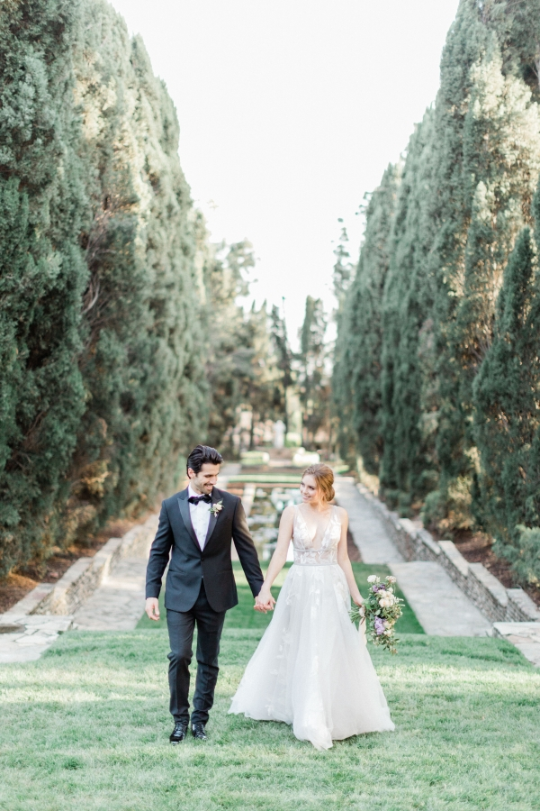Romantic Southern California Estate Wedding Inspiration 12