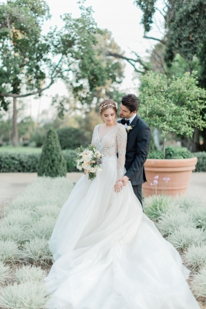 Romantic Southern California Estate Wedding Inspiration 16