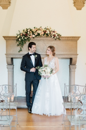 Romantic Southern California Estate Wedding Inspiration 2