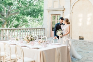 Romantic Southern California Estate Wedding Inspiration 4