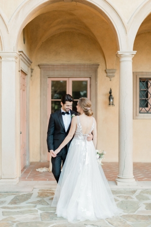 Romantic Southern California Estate Wedding Inspiration 5
