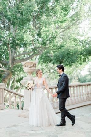 Romantic Southern California Estate Wedding Inspiration 7