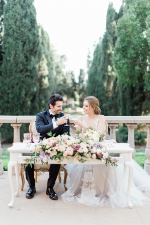 Romantic Southern California Estate Wedding Inspiration 8