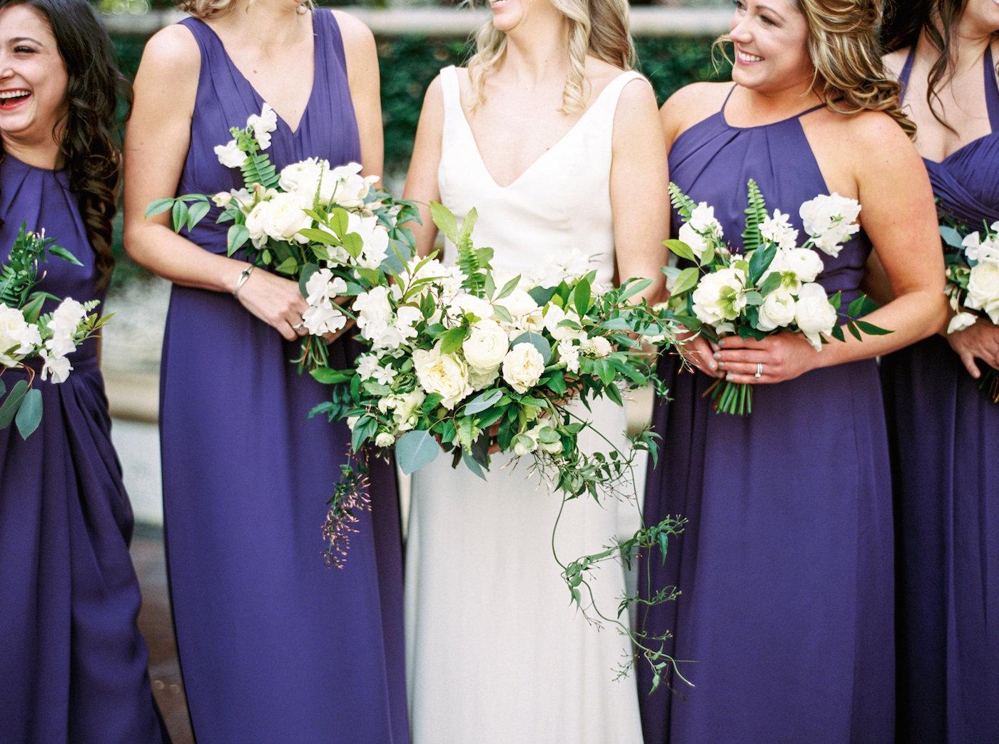 Royal Blue Bridesmaids Dresses 1