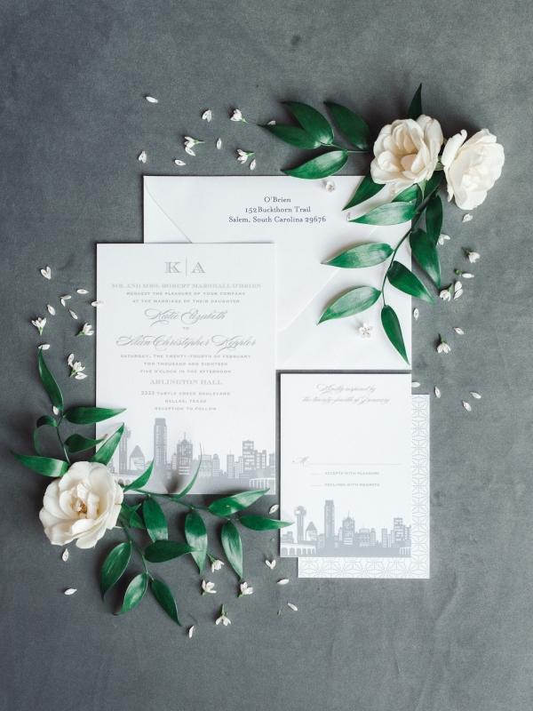 Skyline Wedding Invitations