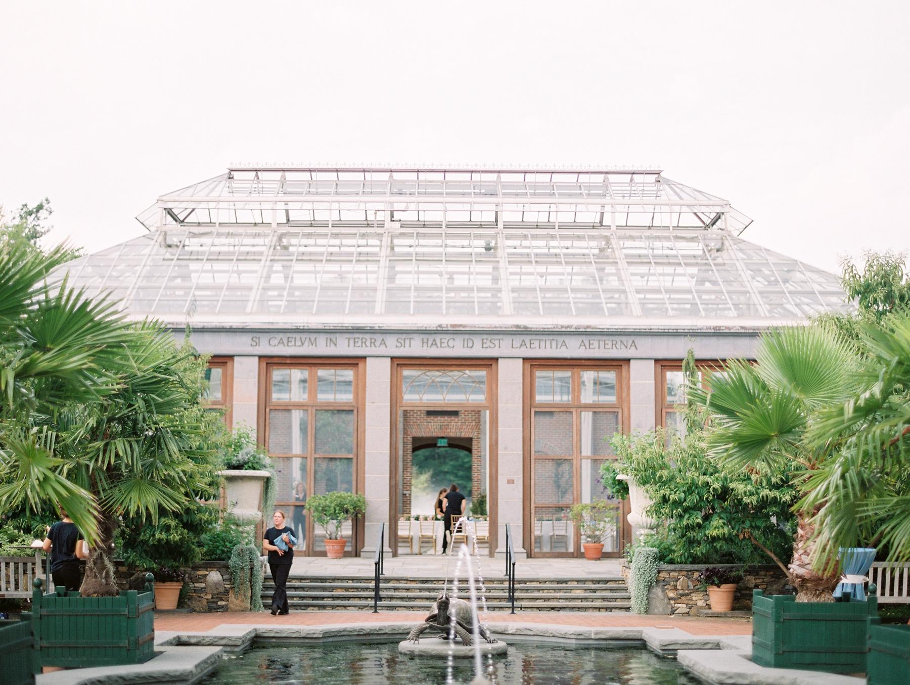 Tower Hill Botanical Garden Wedding Arielle Doneson 10