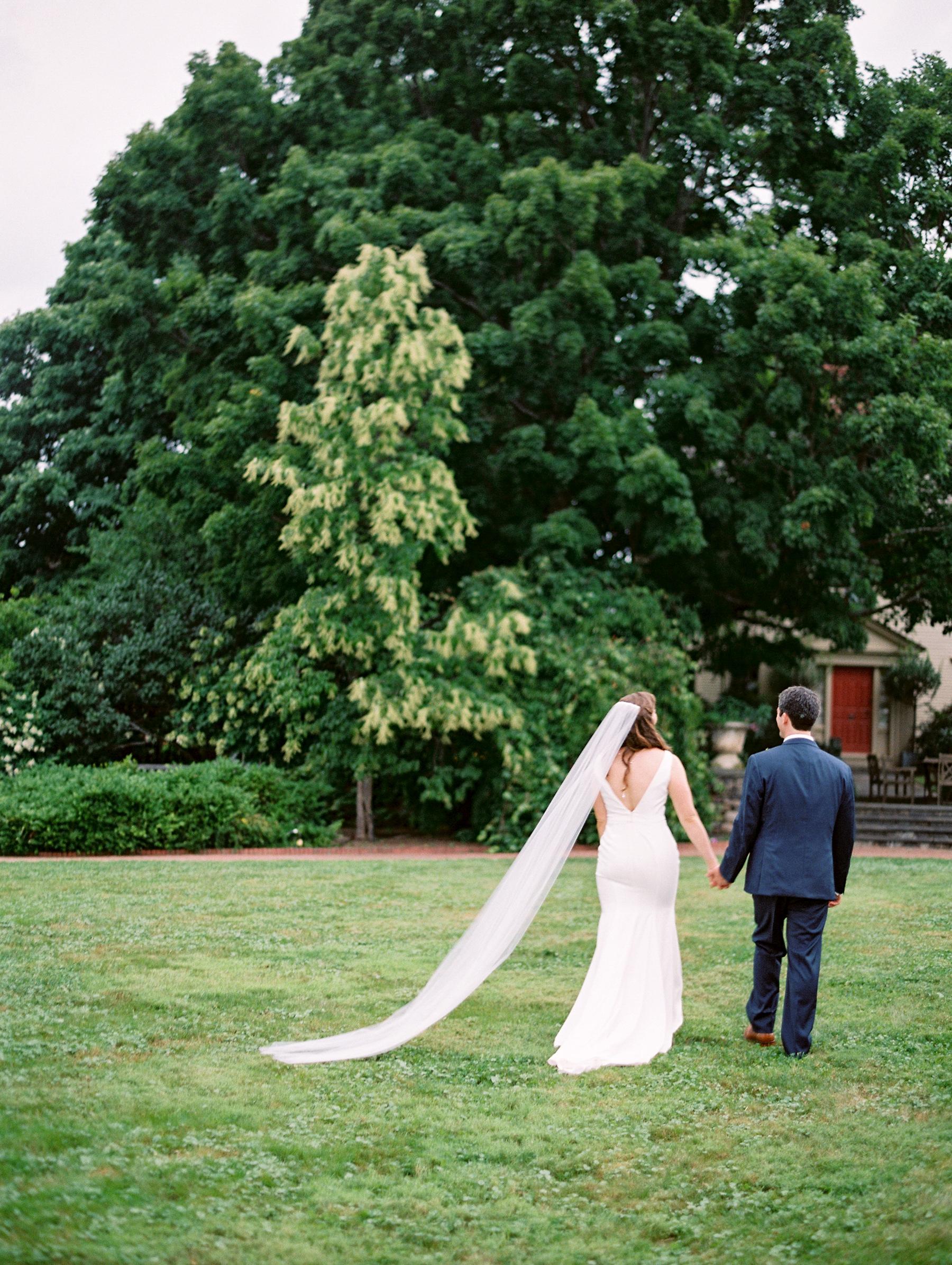 Tower Hill Botanical Garden Wedding Arielle Doneson 12