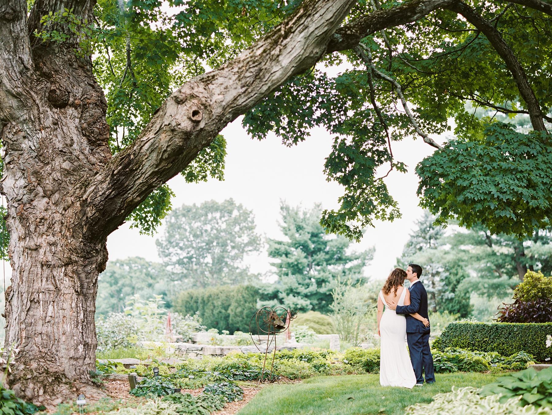 Tower Hill Botanical Garden Wedding Arielle Doneson 9