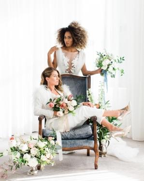 Two Brides in Varca Bridal
