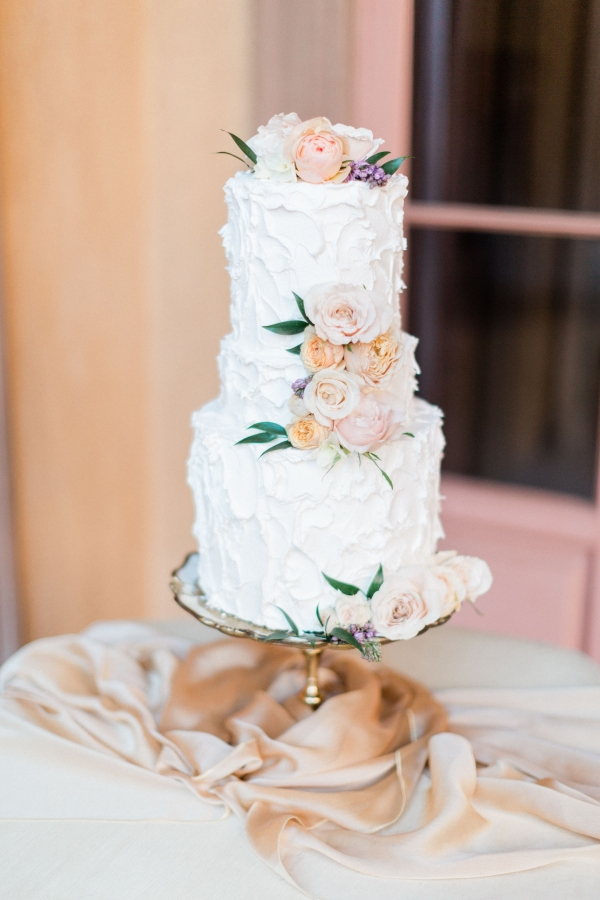 Wedding Cake with Buttercream Icing