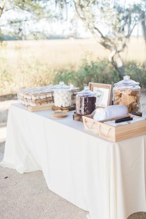 Wedding Smores Station
