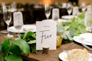 Wedding Table Numbers 1