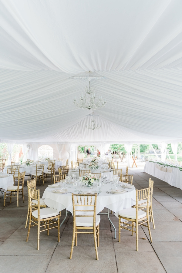 White Wedding Tent