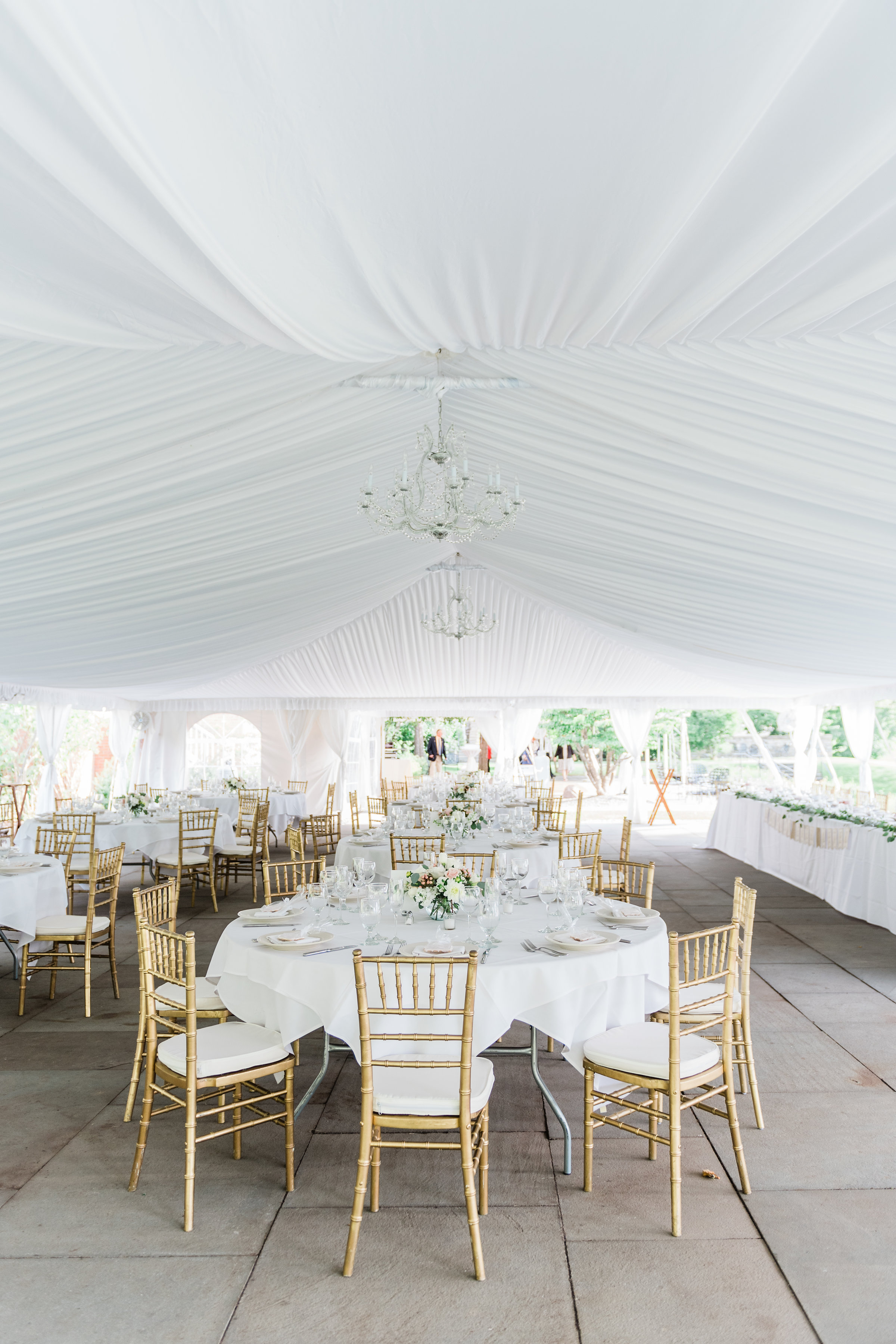 White Wedding Tent