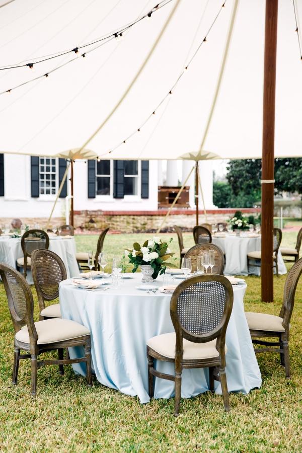 Blue Wedding Receptions