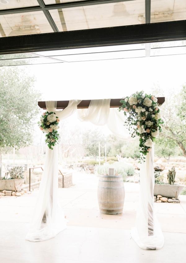 Blush Colored Wedding in the Temecula Desert Janita Mestre16
