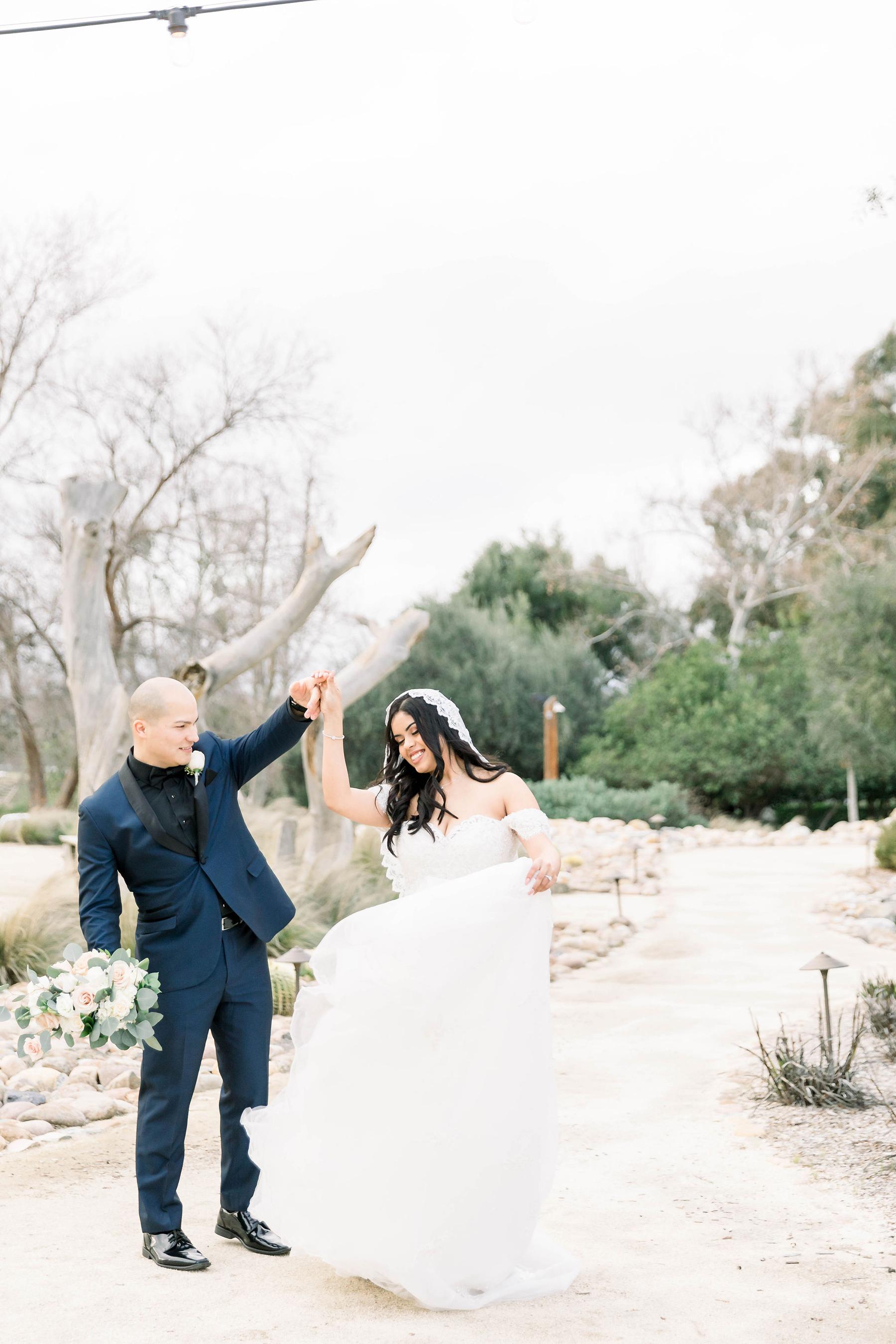 Blush Colored Wedding in the Temecula Desert Janita Mestre30
