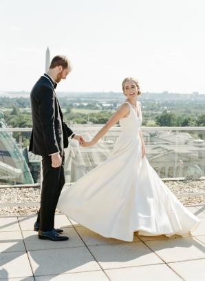 Classic Museum Wedding in DC Lisa Blume22