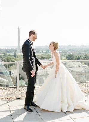 Classic Museum Wedding in DC Lisa Blume23