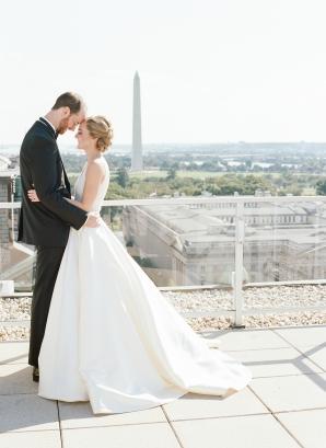 Classic Museum Wedding in DC Lisa Blume24