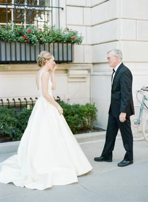 Classic Museum Wedding in DC Lisa Blume27