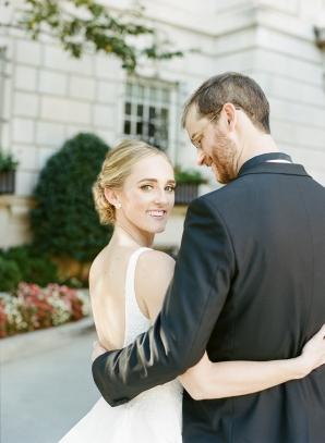 Classic Museum Wedding in DC Lisa Blume30