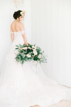 Elegant Bridal Session Inspired by Frida Kahlo Heirloom Rose Photography04
