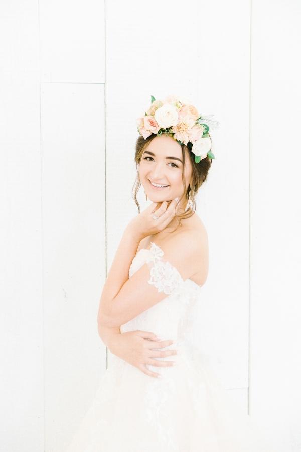 Elegant Bridal Session Inspired by Frida Kahlo Heirloom Rose Photography10