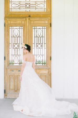 Elegant Bridal Session Inspired by Frida Kahlo Heirloom Rose Photography22