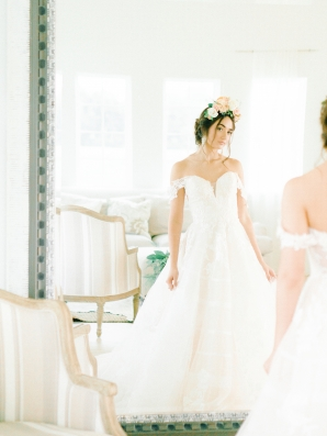 Elegant Bridal Session Inspired by Frida Kahlo Heirloom Rose Photography23