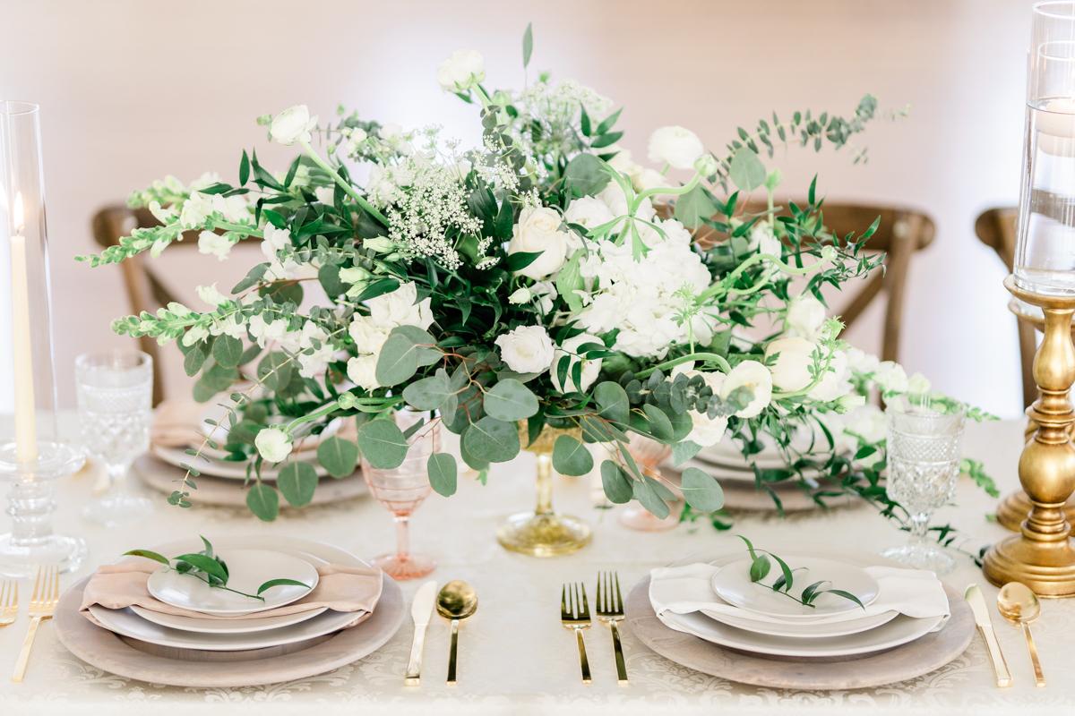 Classic Soft White Wedding Inspiration Flora Bloom Photography06