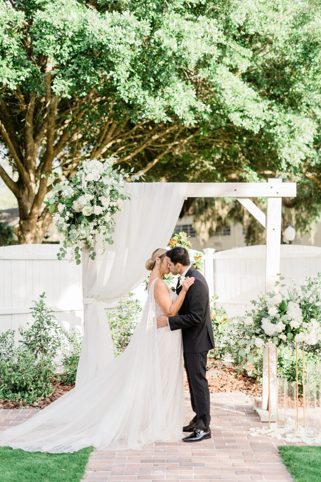 Classic Soft White Wedding Inspiration Flora Bloom Photography41
