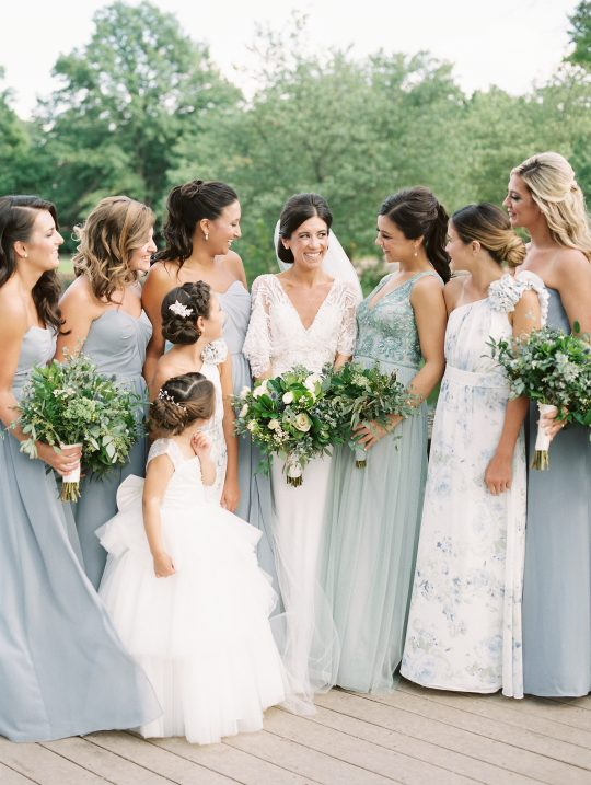 Elegant New Jersey Wedding with Greenery 1