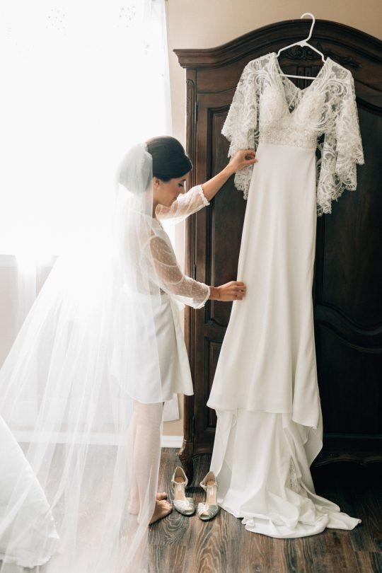 Elegant New Jersey Wedding with Greenery 12