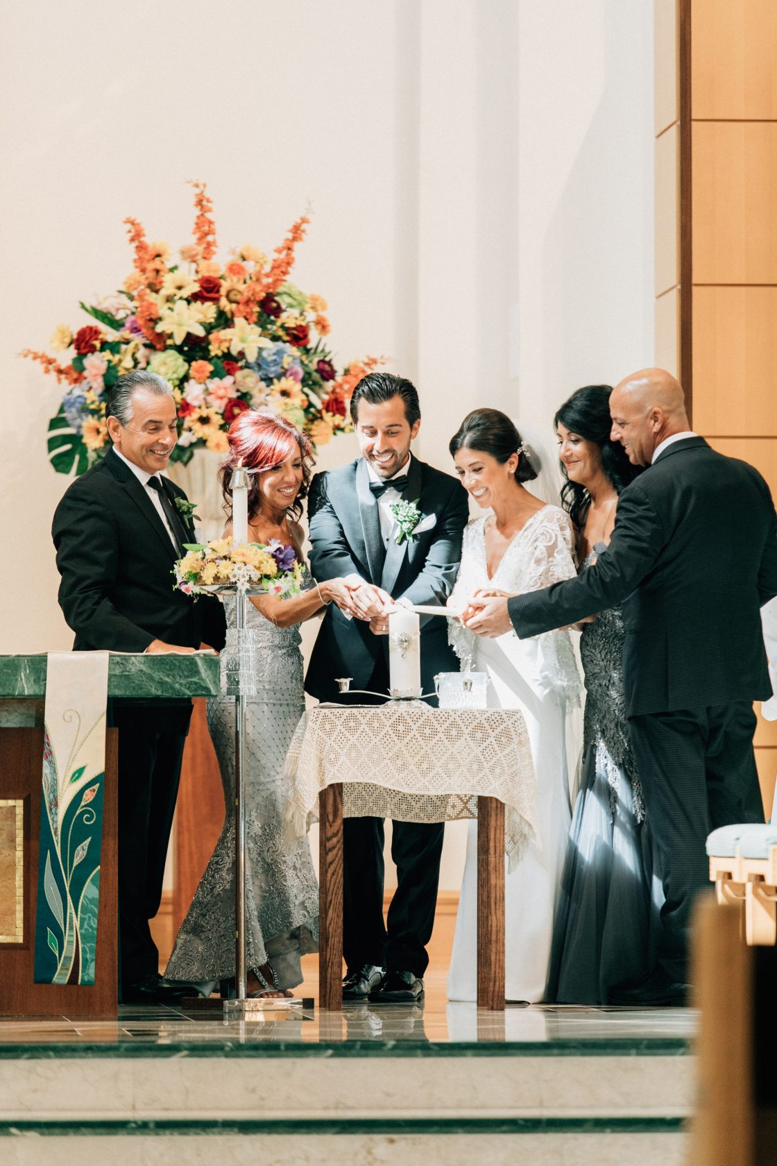 Elegant New Jersey Wedding with Greenery 31