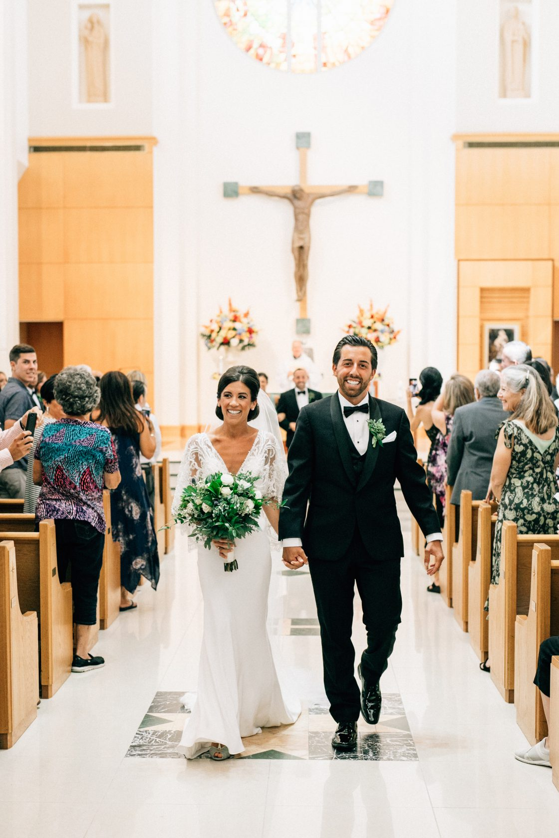 Elegant New Jersey Wedding with Greenery 34